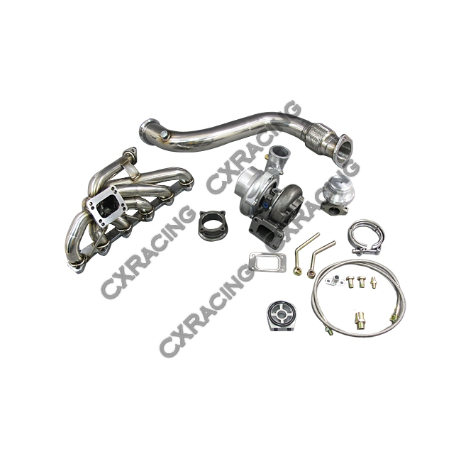 turbo intercooler piping downpipe catback kit for 84