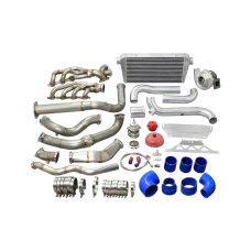 Turbo Intercooler Kit For 07-14 Cadillac Escalade GMT900 Suburban 6.2L 700HP