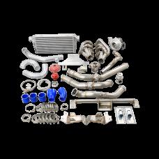LS1 Engine 4L80 Trans Turbo Manifold Intercooler For 67-72 Chevrolet C10 Truck
