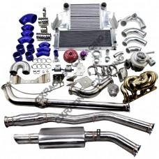 Engine Transmission Mount Oil Pan Turbo Intercooler Catback For Datsun 510 SR20DET
