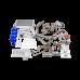 LS1 Engine T56 Trans Mount Oil Pan Turbo Kit For 04-13 BMW E90/E92 328 335