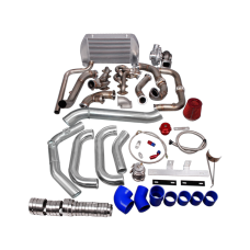 Turbo Manifold Header Downpipe Intercooler Piping Kit For 09-10 Ford F150 F-150