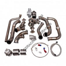 Turbo Manifold Header Downpipe Kit For 09-10 Ford F150 F-150 Expedition 5.4L