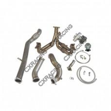 Ball Bearing Turbo Kit Manifold Downpipe For Scion FR-S Subaru BRZ FA20 NA-T