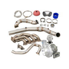 Thick Wall Turbo Manifold Kit For 05-11 Civic Si FA FG FK FN FD K20 Engine