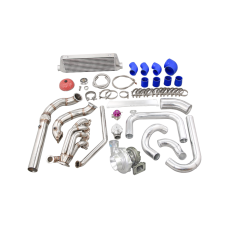 Turbo Manifold Intercooler Piping Kit For 92-95 Honda Civic EG K20 Engine