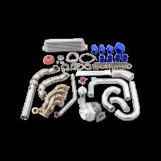 Turbo Intercooler Piping Kit For 92-95 Honda Civic EG K20 Thick Manifold