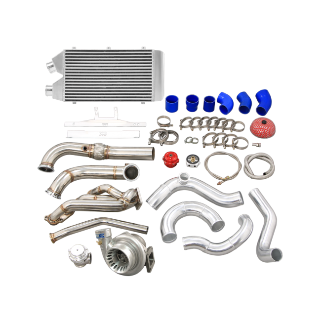 Turbo Manifold Intercooler Kit For 96-00 Honda Civic EK