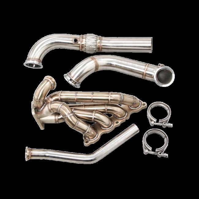 Thick Wall Turbo Manifold Intercooler For 96-00 Honda