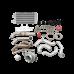 Thick Wall Turbo Manifold Intercooler For 96-00 Honda Civic EK K20 Engine