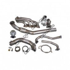 GT35 Turbo Manifold Downpipe Kit for Civic Integra DC5 RSX K20 Sidewinder