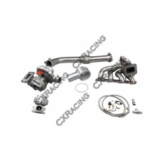 Turbo Kit For 97-01 Nissan FRONTIER KA24DE T3 T04E Downpipe Wastegate