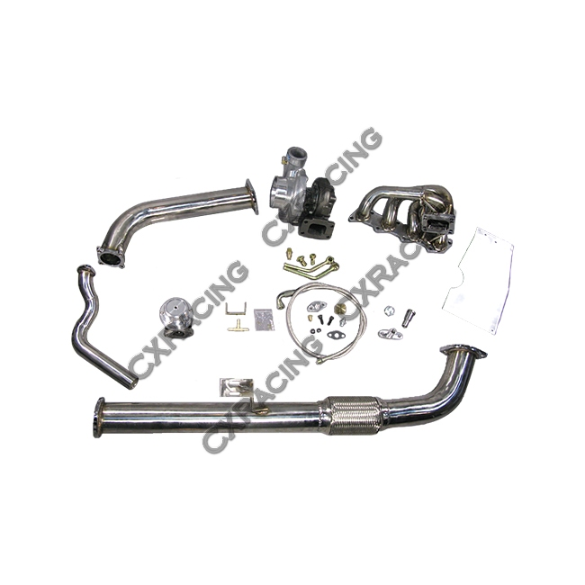 top mount gt35 turbo kit   fm intercooler kit for 240sx s13 s14 ka24de