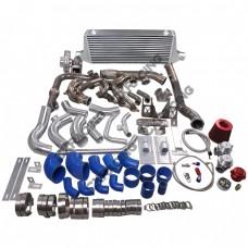 LS1 Engine T56 Mounts Turbo Manifold Intercooler Kit For Scion FRS Subaru BRZ LSx Swap