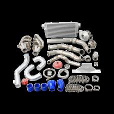 Single Turbo Manifold Intercooler  Kit For 67-72 Chevrolet C10 Truck LS1 LS