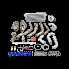V2 Turbo Manifold Downpipe + Intercooler Piping kit for 82-92 Camaro LS1 Engine