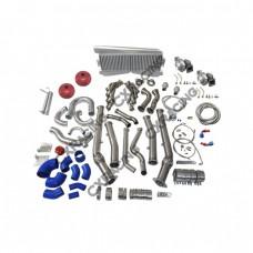 Twin Turbo Intercooler Kit For 04-06 Pontiac GTO Holden Monaro LS1 LS2