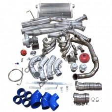 Turbo Intercooler Piping Catback Kit 240SX S13 S14 LS1 LSx Engine Swap