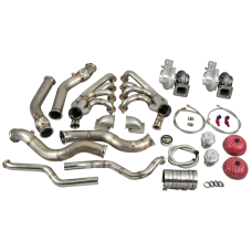 Turbo Kit For 67-69 Chevrolet Camaro with LS1 Engine Swap without Intercooler