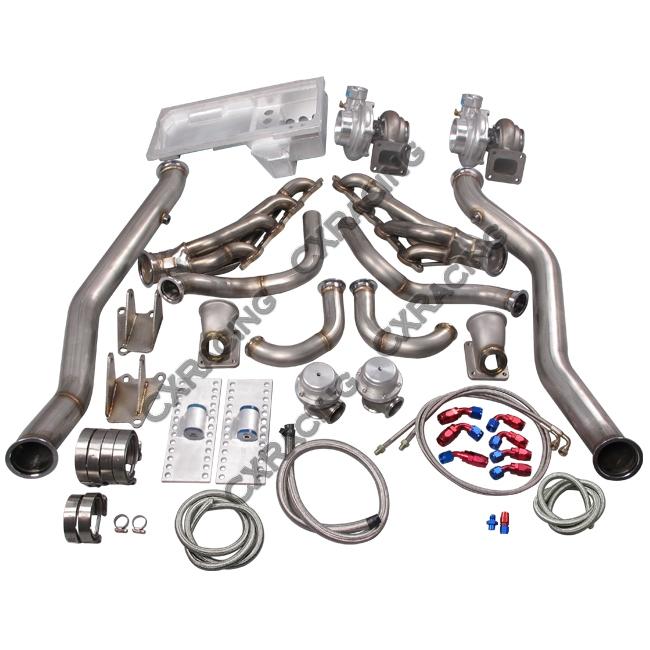 Ls1 Engine Twin Turbo: LS1 Twin Turbo Manifold Kit Motor Mounts Oil Pan For 63-65