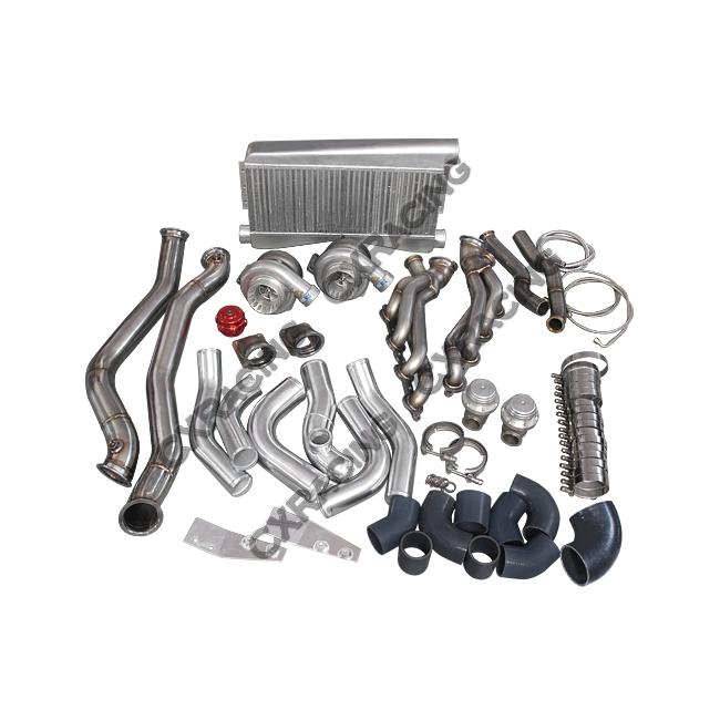 Ls1 Engine Twin Turbo: Twin Turbo Intercooler Kit For 1986-1992 Toyota Supra MK3