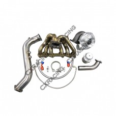 Turbo Kit Manifold Downpipe Oil Line For 1JZGTE 1JZ-GTE GS300 SC300 Supra MK3