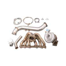 Turbo Manifold Downpipe kit for Toyota 1JZGTE S13 GS300 SC300 Supra MK3