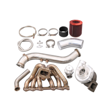 T70 Turbo Manifold kit for Toyota 1JZGTE S13 GS300 SC300 Supra MK3