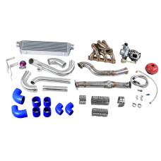 Version 2 Turbo Manifold Downpipe Intercooler Kit For 90-98 Miata 1.6L Engine