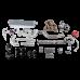 Version 2 Turbo Manifold Downpipe Intercooler Kit For 90-98 Miata 1.6L Engine