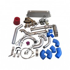 Turbo + Intercooler Kit For Mazda Miata MX-5 1.8L NA-T T3 Top Mount