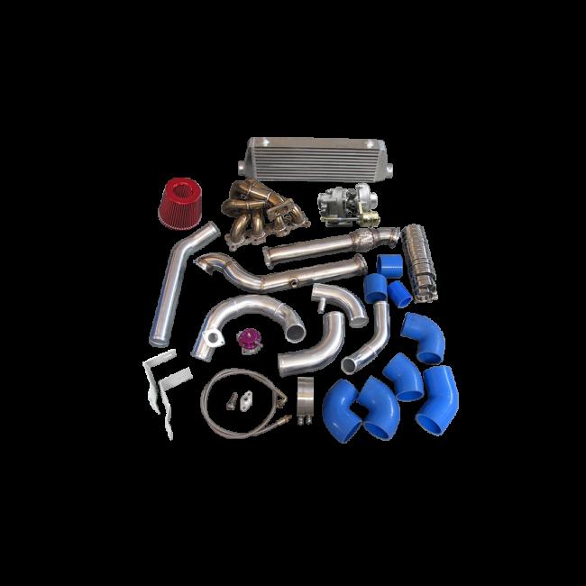 Turbo + Intercooler Kit For Mazda Miata MX-5 1 8L NA-T T3