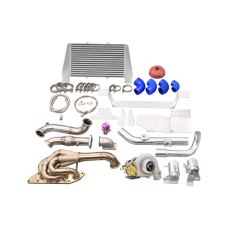 Turbo Manifold Downpipe Intercooler Kit For 05-15 Mazda Miata MX-5 NC 2.0