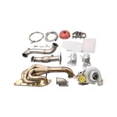 Turbo Manifold Downpipe Kit For 05-15 Mazda Miata MX-5 NC 2.0
