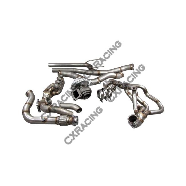 t76 turbo kit manifold intercooler for 79