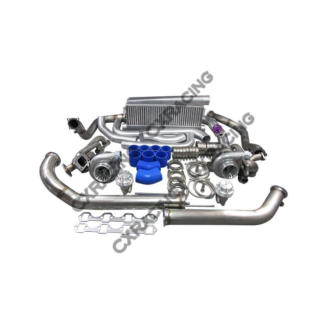 gt35 twin turbo intercooler kit for 79