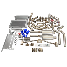 LS1 Turbo Intercooler Catback Engine Trans Mount Radiator For 68-72 Chevelle