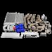Turbo Kit Intercooler Piping Radiator For 68-72 Chevrolet Chevelle SBC Small Block