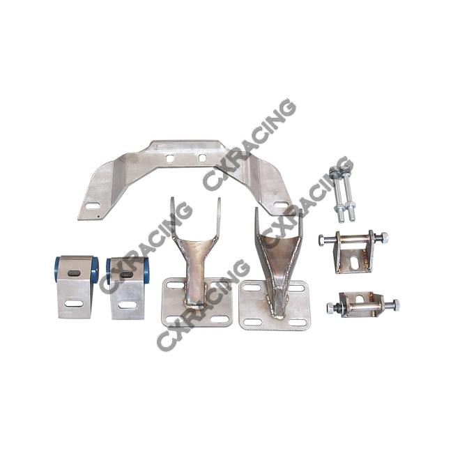 Manifold Turbo Downpipe Catback Transmission Engine Mount