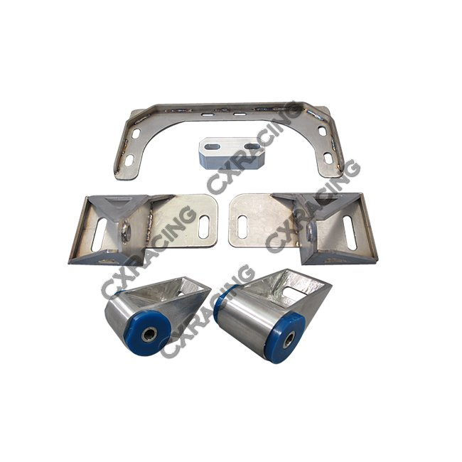 Turbo Kit Intercooler Engine Transmission Mount Kit For