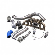 Single T70 Turbo Downpipe Manifold Kit For 240SX S13 S14 RB20 RB25 500HP