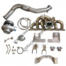 RB25DET Turbo Manifold Downpipe Engine Transmission Mount For 300ZX Z32
