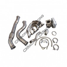 Turbo Manifold + Downpipe For RB26DETT Swap 240Z 260Z 280Z S30 RB26