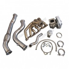Thick Turbo Manifold + Downpipe For RB26DETT Swap 240Z 260Z 280Z S30 RB26