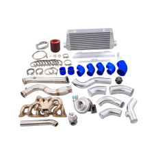 Single Turbo Manifold Intercooler Piping Kit For 89-94 Skyline R32 GT-R RB26DETT