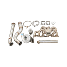 Single Thick Wall Turbo Manifold Kit For Nissan Skyline R32 GT-R RB26DETT RB26