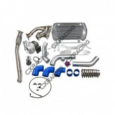 Top Mount Turbo + Intercooler Kit For Mazda RX-7 FD 13B Engine RX7