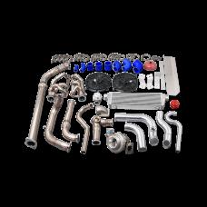 Turbo Manifold + Intercooler Kit for 94-04 Chevrolet S10 Truck 4.3L Vortec