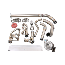 Turbo Manifold Downpipe Kit for 94-04 Chevrolet S10 Truck 4.3L Vortec
