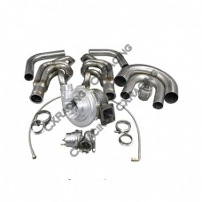 T76 Single Turbo DIY Kit For Small Block Chevy SBC GM 302 305 327 350 400